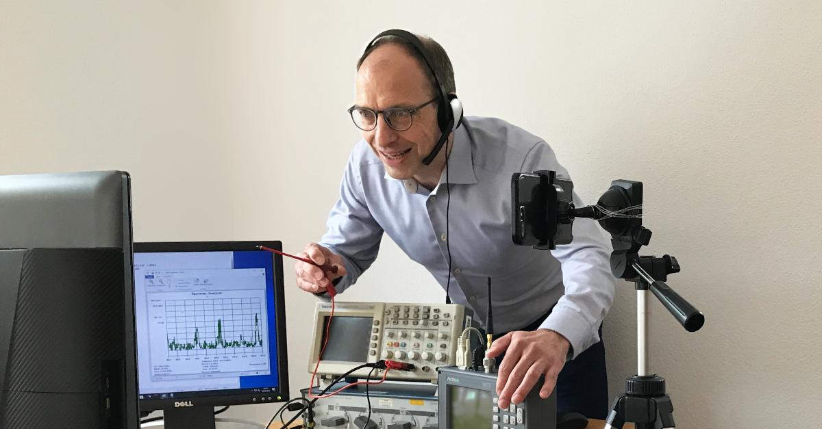 Webinar zur Messtechnik und Sensorik mit Prof. Dr.-Ing. Jörg Böttcher